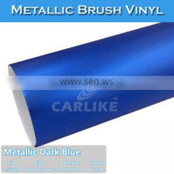 CARLIKE Super Quality Adhesive Strong Glue Brushed Vinyl Film For Car
