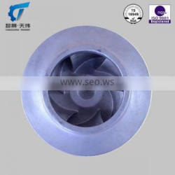 stainless steel impeller parts for water pump