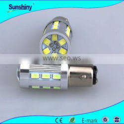 8W 1156 1157 led car brake reverse lihgt car led bulb dual color
