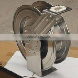 Long Lifespan 1/2 Inch by 100Feet Stainless Steel Garden Hose Reel
