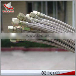 Oil Resistant Teflon Hose With SS Braided