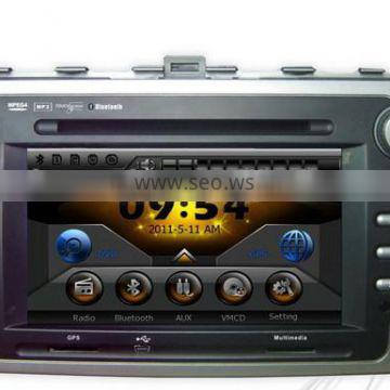 """7"""" digital touch screen double din special car dvd player for mazda 6 with gps bluetooth"""