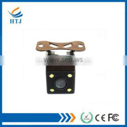 Universal 170 wide angle square shape rear camera with adjustable 4 LED light camera