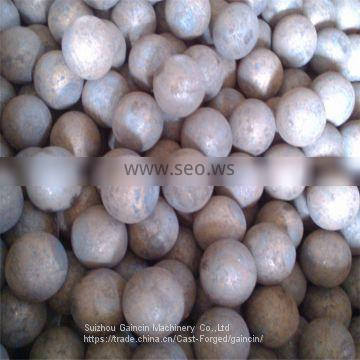 dia.40,50mm forged grinding media,forged grinding mill steel balls, rolled steel balls,rolld balls for ball mill