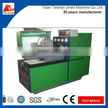 12PSDB Bosch Diesel Fuel Injection Pump Test Bench From Manufacture Taishanjinshi Factory