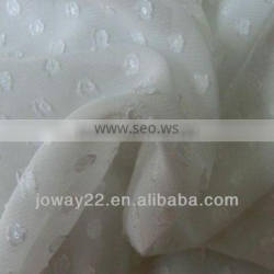 Dotted Crepe Fabric for Dress
