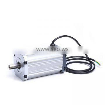 HFM021 48V 1000W 3000RPM high power long brushless bldc hall sensor motor controller for drive test