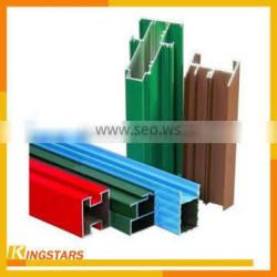 Factory supply Anodized Bronze Aluminum Extrusion profiles 6063T5