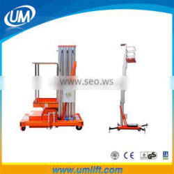 Most Convenient And Safety Best Selling Electric Elvated Man Lift Work Platform With Lift 6-12 Meter