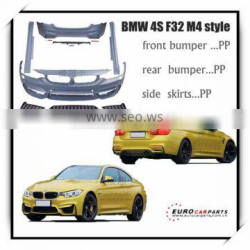 HOT SALE!!! High quality tuning kit 4 series F32/F33 M4 design M4 body kit for 2013-2015y car