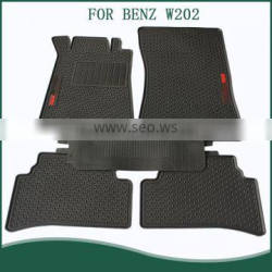 Custom fit PVC floor mats for Benz W202