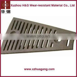 Competitive High Manganese ZGMN13CR2 Ball Mill Liner Plates