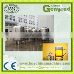 200L turnkey beer brewing systems