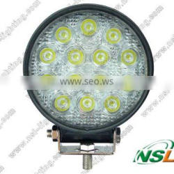 14pcs*3W Hot Sale 42w led work light offroad 12V led Work Light 4x4 ATV Tractor work light Flood/Spot Beam