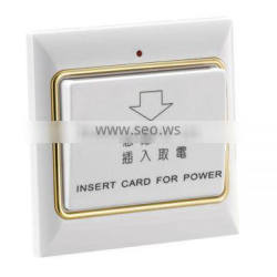 2013 new fashion Hotel electrical system power card switch