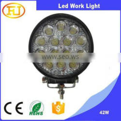 12v 42w led work light for car