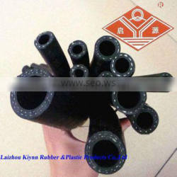 black smooth synthetic rubber air delivery hose