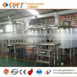 Equipment large beer production beer mash system