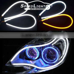 Hot Selling With Turn Signal Function 60CM 85CM Flexible LED DRL For Cars