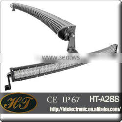 Chinese products wholesale 50 inch 288w 4x4 led car Curved Light Bar