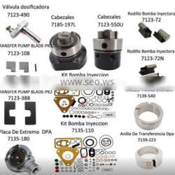 cav dpa injector pump parts 7123-490E Construction machinery diesel engine spare parts