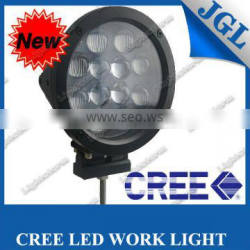 7'' led Off Road Driving Light 4X4 4WD truck Driving Light Auto Fog Light super bright round 24v led lamp for tractor