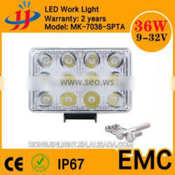 square super bright ip67 led spot light