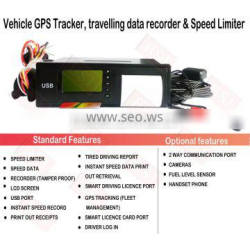 speed controller car gps tracking device digital tachograph T-01