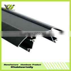 Black anodize aluminum profile from manufacturer