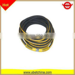 DN 10 High pressure wire braided rubber hose with linon surface for washing / cleaning machine price