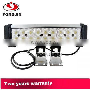 New auto parts 54w led light bar for truck jeep wrangle 4x4 accessories