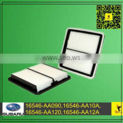 Parts 16546-AA090,16546-AA120,16546-AA12A Air Filter For (03-13) Legacy III 2.0/2.5/3.0, IV2.0/2.5