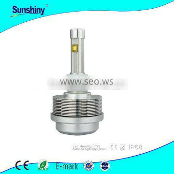 china suppliers red copper aluminum heat sink car led headlight factory price