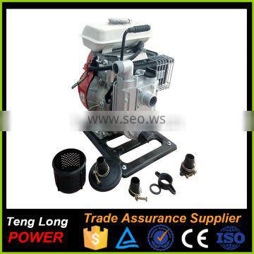 Recoil start Gasoline fuel power Mini portable Water pump with specifications