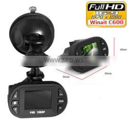 1.5 inches Screen Loop Recording 120 Degree Wide Angle MOV C600 Full HD1080p Car DVR
