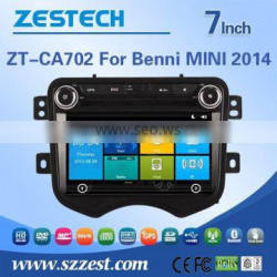 ZESTECH car dvd player For BENNI MINI 2014 car DVD Player with GPS Bluetooth Steering Wheel Control