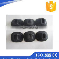 Customized colorful flexible silicone rubber body parts,silicone parts
