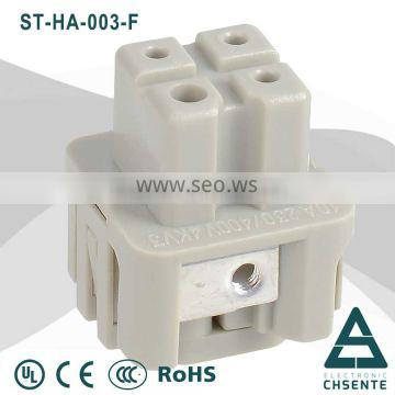 HA series of male and female connector low voltage female connector screw terminal