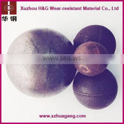 Dia.130mm ball mill chrome casting steel ball