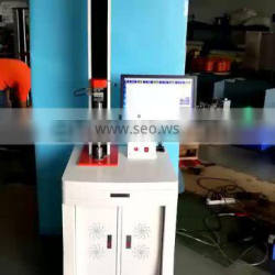 Benchtop Electronic Fabric Breaking Strength Tester, Single Column Fabric Tensile Tester