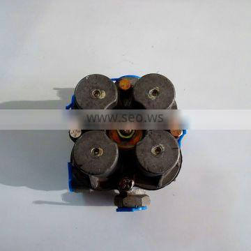 Four circuit protection /4 way protection valve