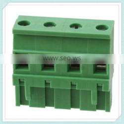 4-way Terminal Block XS2ESDT 300V 15A 5.0/5.08/7.62/3.81/3.5mm Pitch with UL, CE, ISO, SGS,CQC Approved