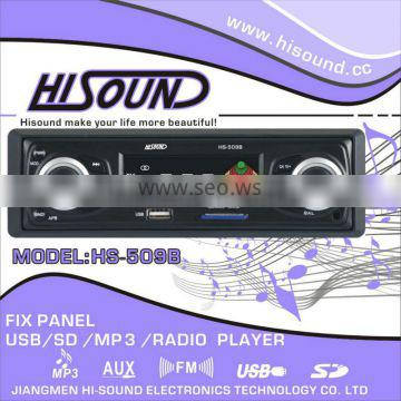 fm radio usb/sd car amplifier
