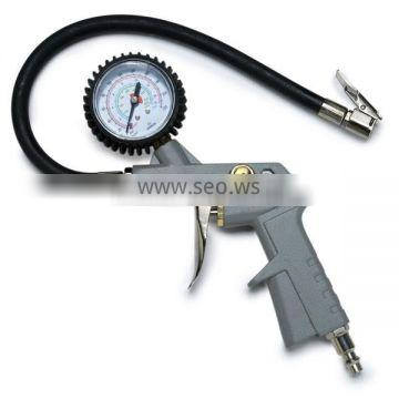 Air Inflator with 2-inch Pressure Gauge