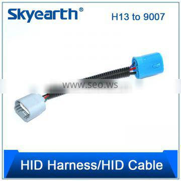 Milan HID Xenon Ballast AMP Extension High Voltage Wire Cable Wiring Harness 1m 100cm hid extension cable hid ballast cable