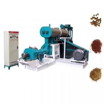 High Efficiency Floating Fish Feed Extruder Pellet Machine Dry Type