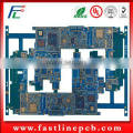 HDI mobile phone pcb layout circuits board