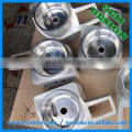 High quality high precision mirror polished aluminum housing with 100% inspection