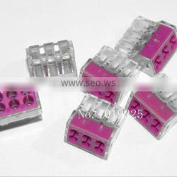 Wire connector 773-106 2.5 square meters Hard line wire terminals