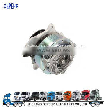 Depehr New Item Heavy Duty European Truck Cooling Parts DAF XF/CF Truck Right-Hand Drive Aluminum Coolant Water Pump 2104578